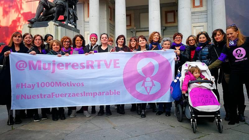 'Mujeres RTVE' homenajea a Alicia G. Montano