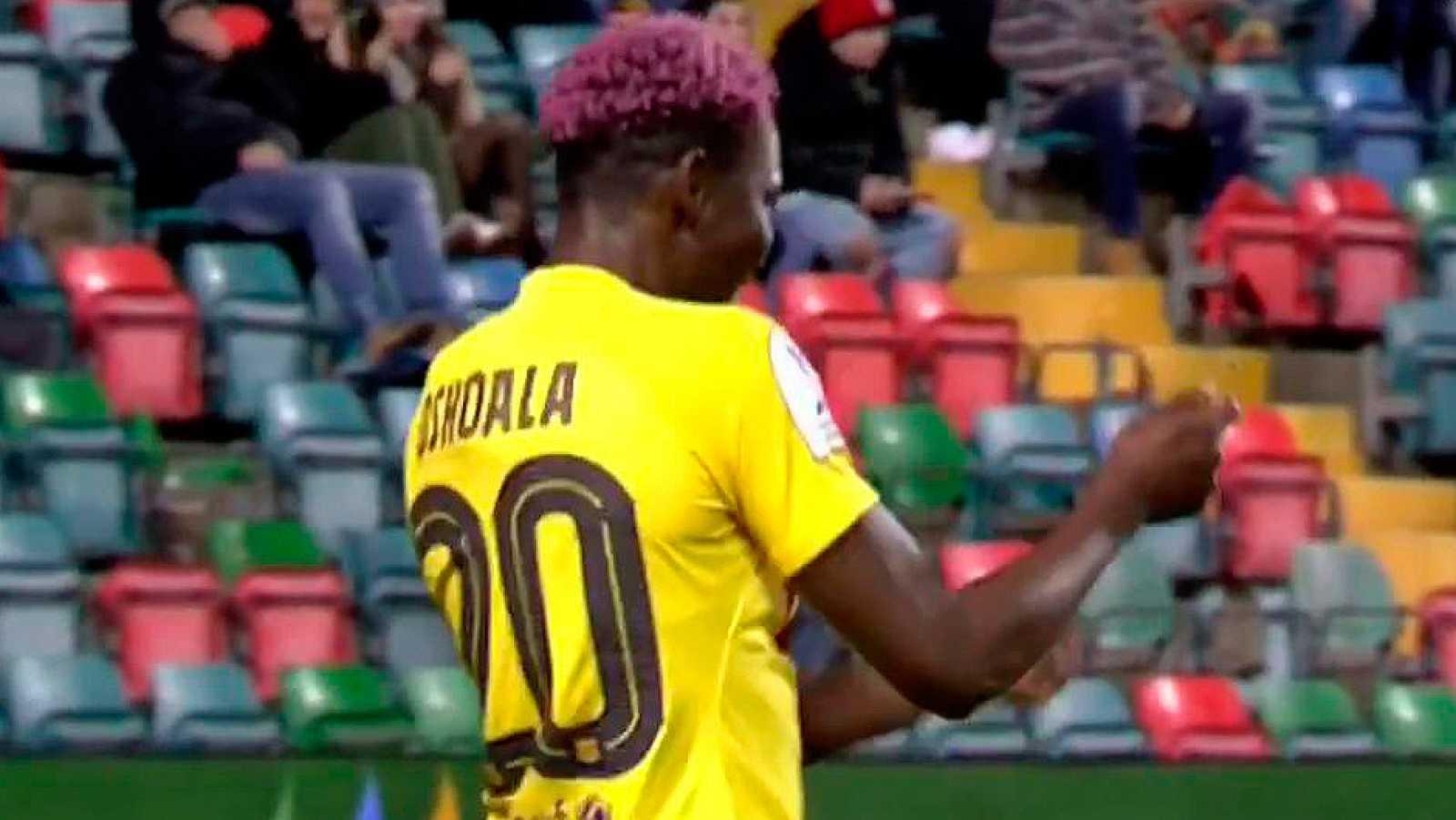 Oshoala marca el tercero del Barça (1-3)
