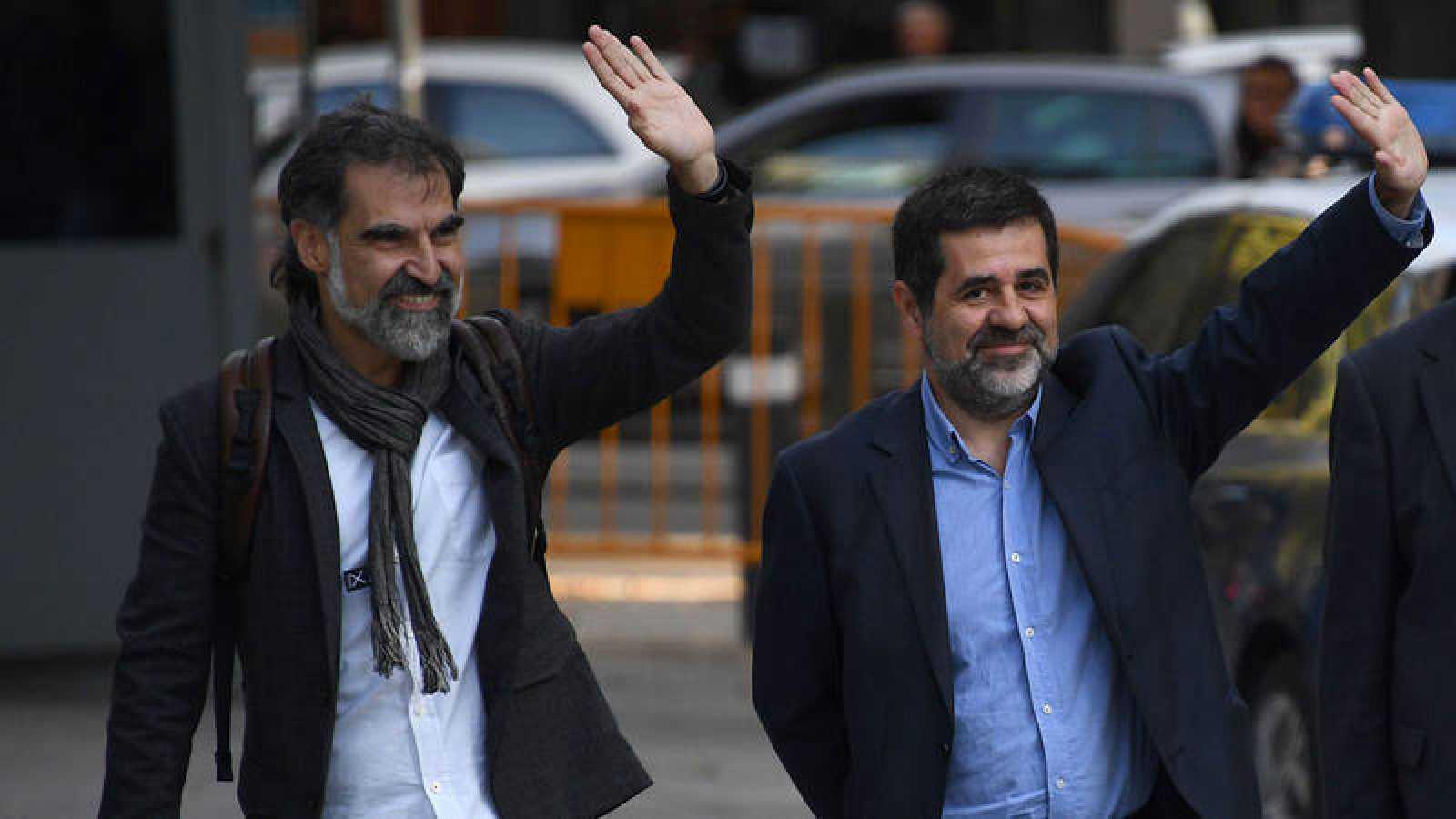 Jordi Sánchez y Jordi Cuixart podrán salir de prisión durante el día para trabajar