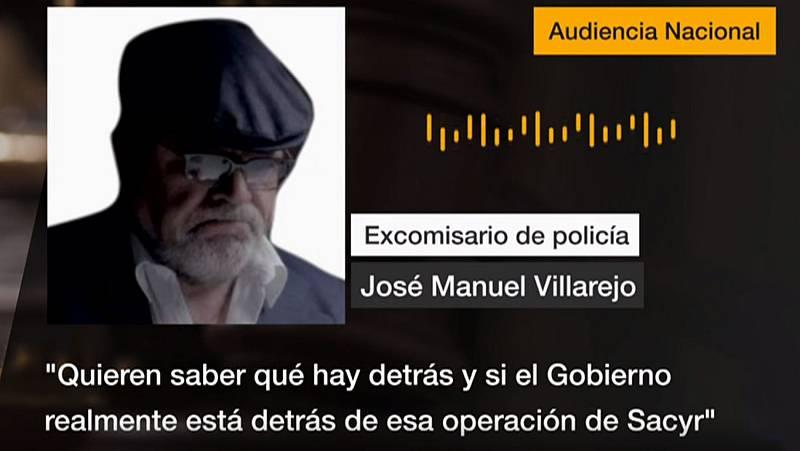 Villarejo explica que el BBVA le contrató para saber si el Gobierno estaba detrás la operación de Sacyr