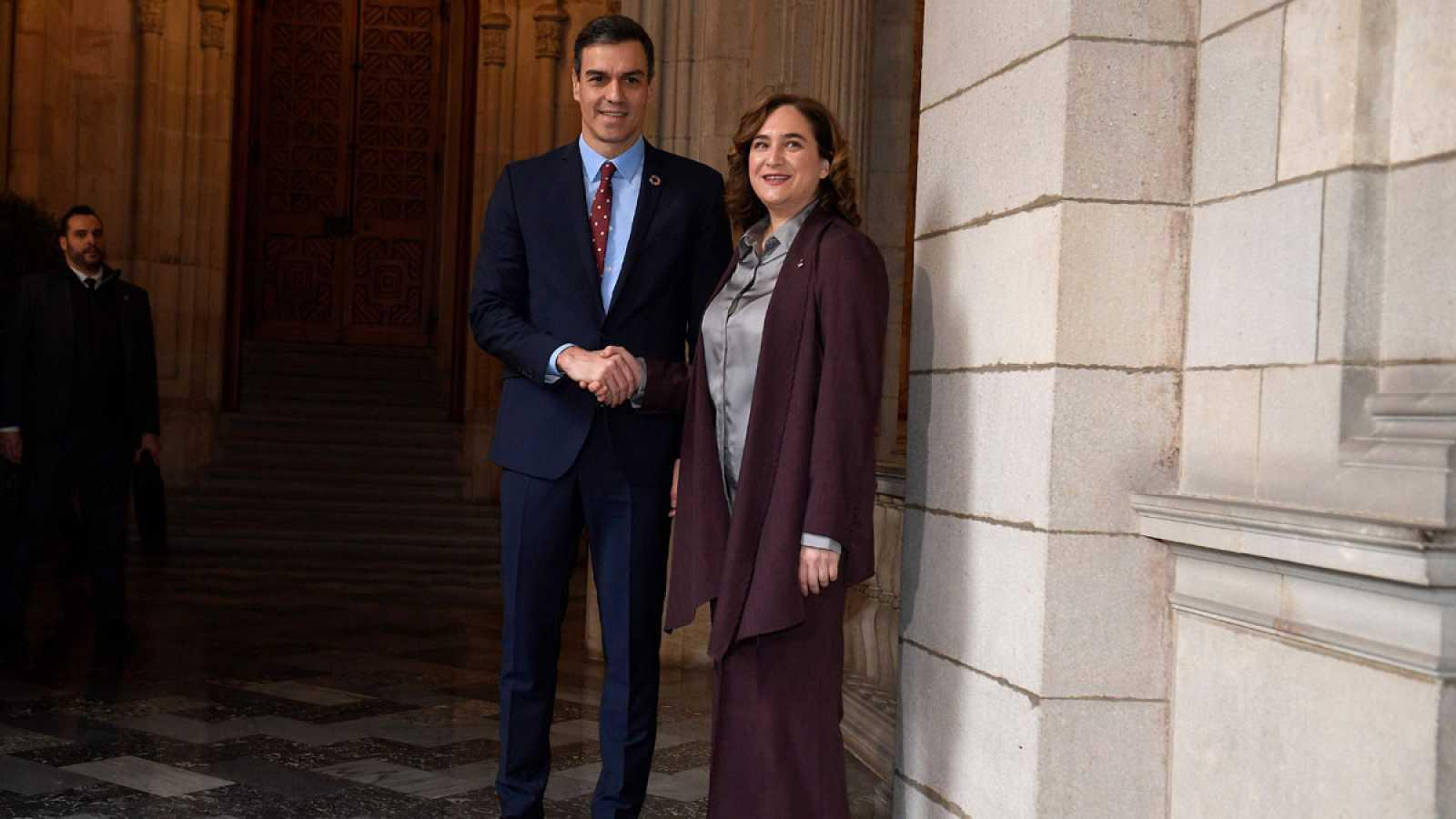 Sánchez y Colau se reúnen este viernes en Barcelona