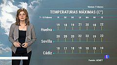 El Tiempo en Andalucía - 07/02/2020