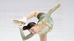 Patinaje artístico - Torneo cuatro continentes. Programa libre femenino