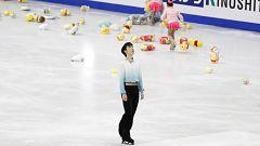 Hanyu bate su propio récord del mundo con una puntuación de 111.82