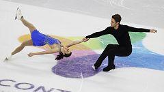 Patinaje artístico - Torneo cuatro continentes. Programa libre parejas