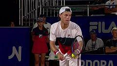 Tenis - ATP 250 Torneo Córdoba 2ª Semifinal: D. Schwartzman - L.Djere