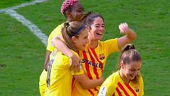 Gol de Marta Torrejón (0-1) en la final de la Supercopa