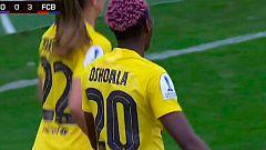 Gol de Oshoala (0-4) en la final de la Supercopa
