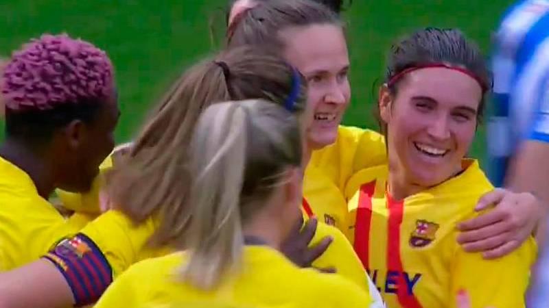 Gol de Hansen (0-5) en la final de la Supercopa