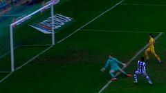 Gol de Manu Lareo (1-8) en la final de la Supercopa