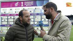 """Lluis Cortés: """"Meter dos goles pronto nos ha dado mucha confianza"""""""