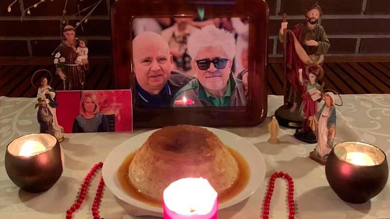 El 'altar' de la familia Almodóvar para invocar la gloria en los Oscar 2020