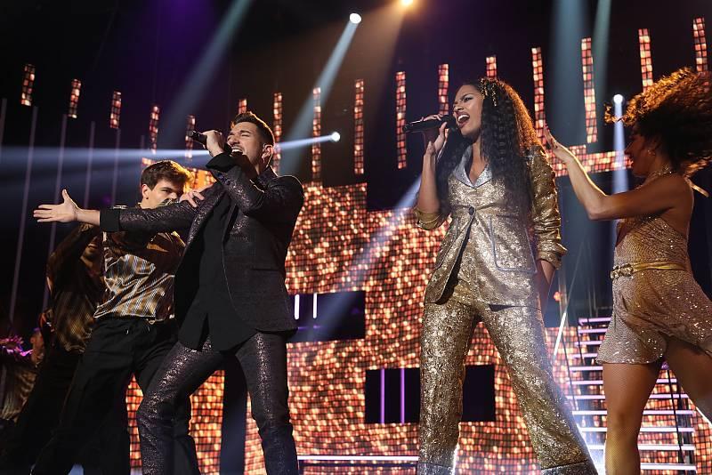 """Bruno y Nia cantan """"Bad Girls"""", de Donna Summer (V. Jamiroquai & Anastacia), en la Gala 4 de Operación Triunfo 2020"""