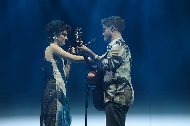 """Gèrard y Anne cantan """"Wicked Game"""", de Chris Isaak, en la Gala 4 de Operación Triunfo 2020"""
