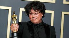 """Histórica victoria de """"Parasitos"""" en los Oscar"""