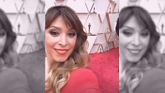 Gente y tendencias - Gisela graba su paso por los Oscar 2020