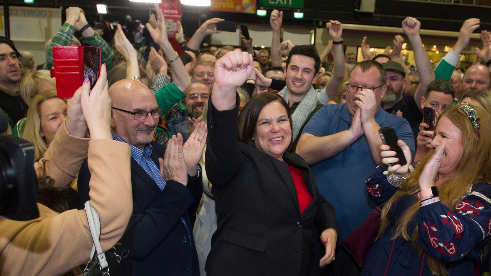 La líder del Sinn Féin negociará para formar gobierno en Irlanda