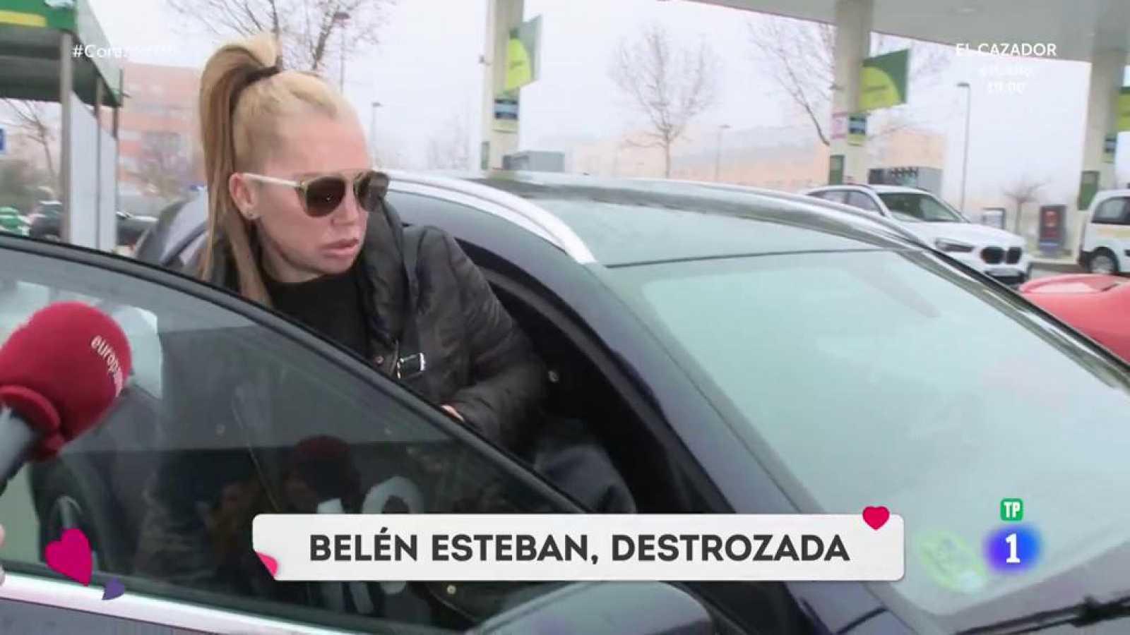 Corazón - Belén Esteban, destrozada tras el fallecimiento de Fran Álvarez