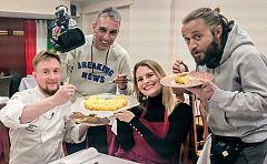 Aquí la Tierra - La tarta de queso al fuego de Logroño