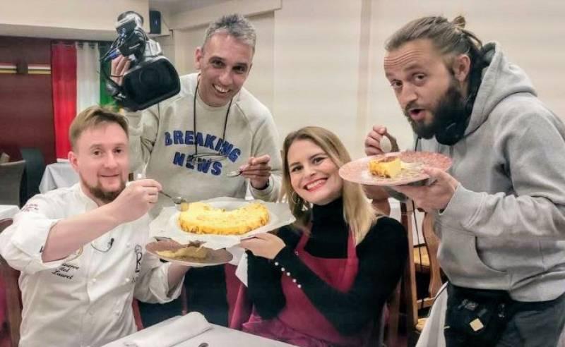 La tarta de queso al fuego de Logroño