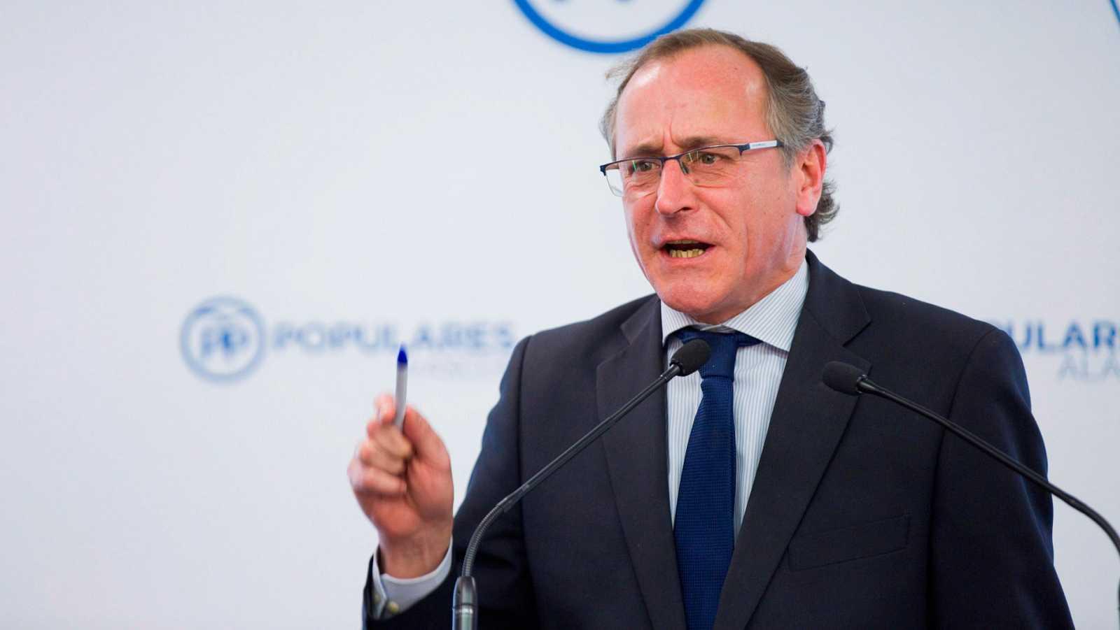 El PP opta por Alfonso Alonso como candidato a las elecciones en el País Vasco