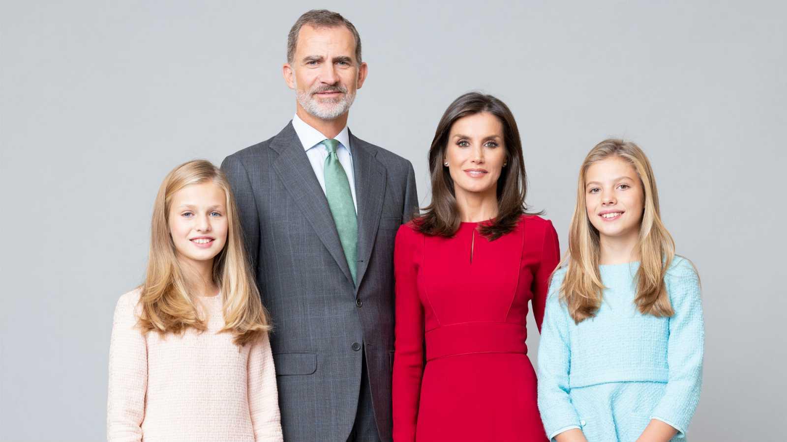 La Casa Real distribuye nuevas fotografías de la Familia Real
