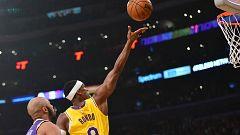 Los Lakers alcanzan las 40 victorias en la liga regular