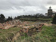España Directo - Grieta de un centenar de metros en Tazones