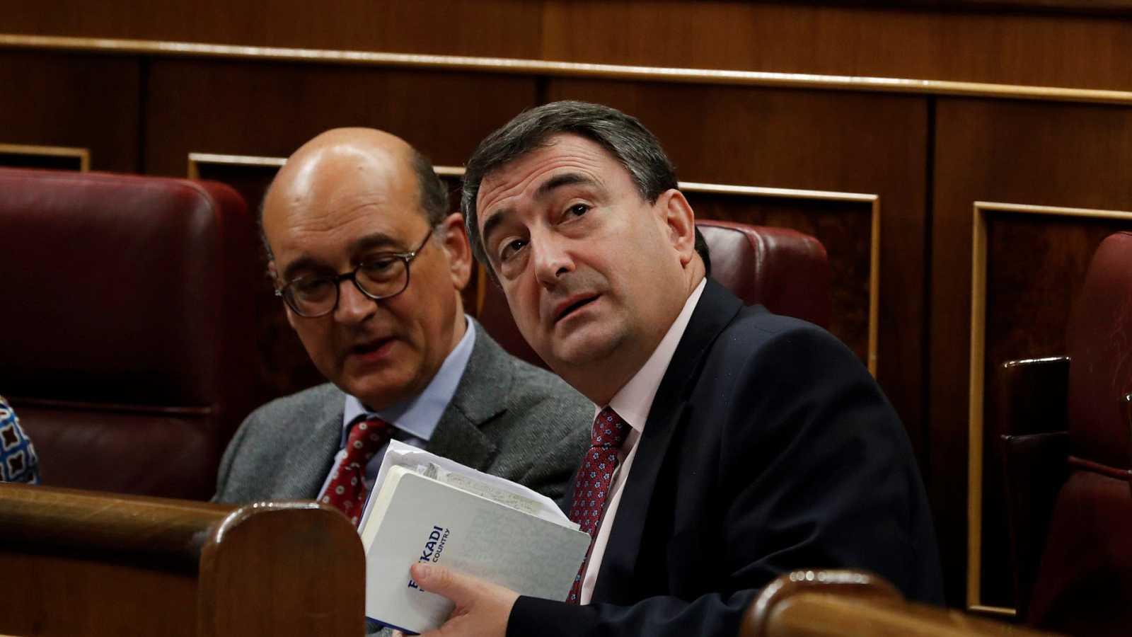 """Esteban (PNV) confía en la aprobación de los presupuestos, pese a las """"dudas del gobierno"""" sobre el calendario: """"Queremos negociar"""""""