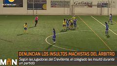 Polémica por supuestos insultos machistas de un árbitro a unas jugadoras durante un partido de fútbol femenino
