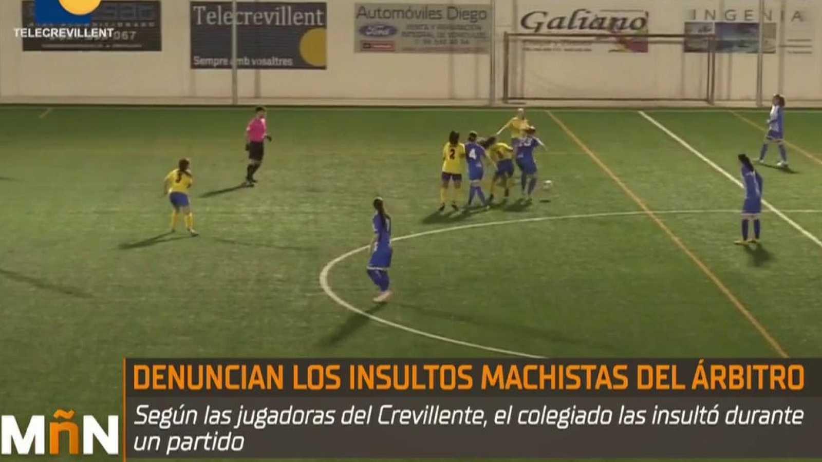 Polémica por supuestos insultos machistas de un árbitro a unas jugadoras durante un partido de fútbol