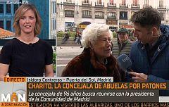 La Mañana - Charito, la concejala de 96 años de Abuelas por Patones' vuelve a la carga