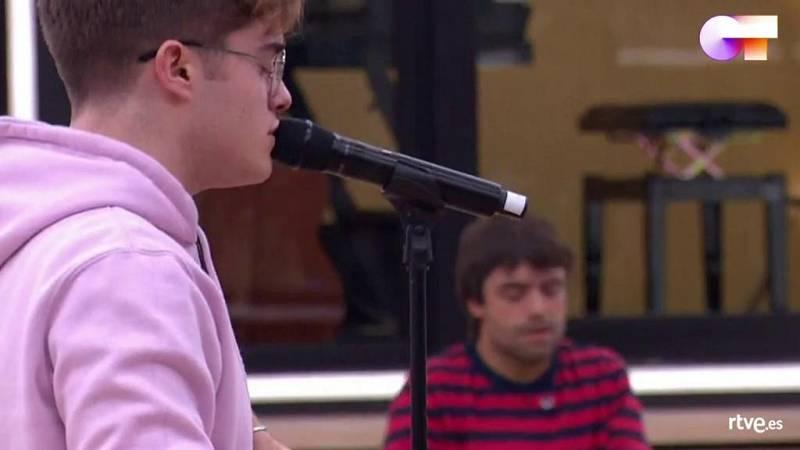 """Gèrard canta """"Prometo"""" de Pablo Alborán, en el primer pase de micros de la Gala 5 de Operación Triunfo 2020"""