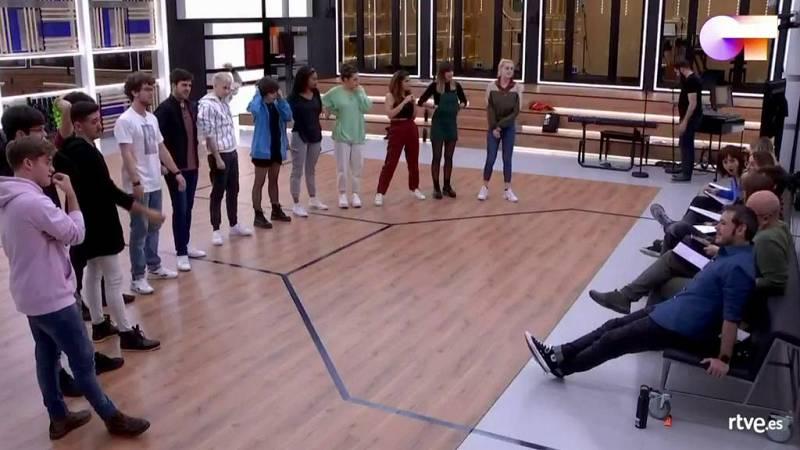 """OT 2020 canta """"Sabor de amor"""" de Danza Invisible en el primer pase de micros de la Gala 5 de Operación Triunfo 2020"""