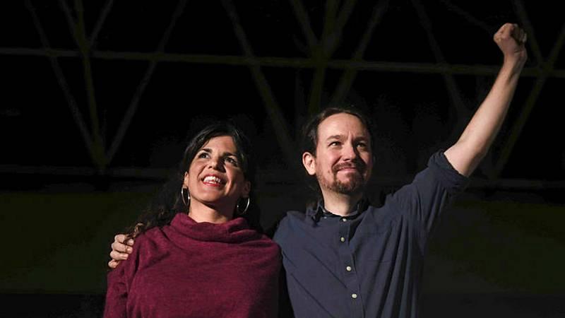Teresa Rodríguez acuerda con Iglesias su salida de Podemos