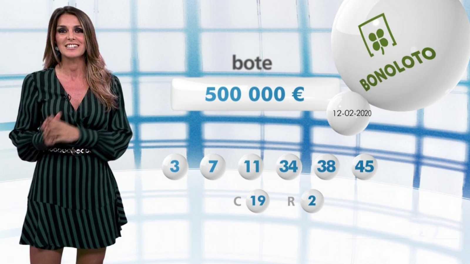 Bonoloto - 12/02/20 - ver ahora