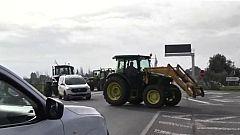 Nuevas protestas en Málaga por la situación agraria en España