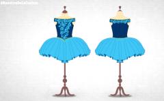 Maestros de la Costura 3 - Así se hace el vestido azul de bailarina