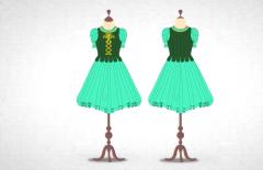 Maestros de la Costura 3 - Así se hace el vestido verde de bailarina