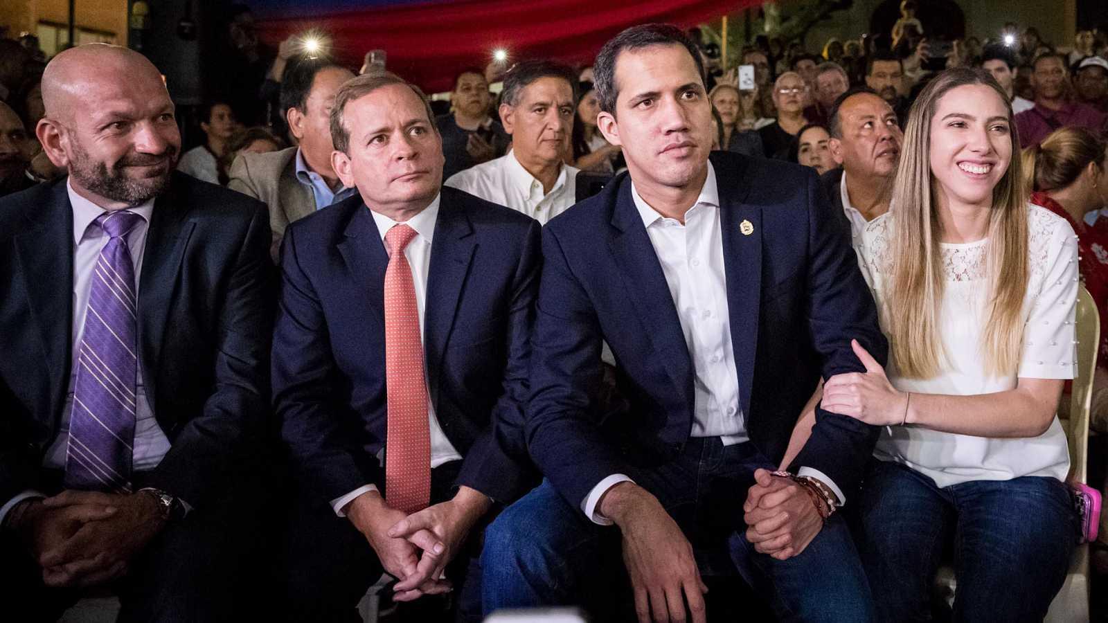 El tío de Guaidó, detenido por llevar supuesto material explosivo prohibido
