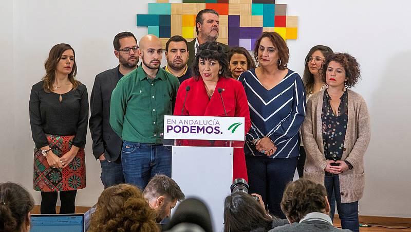 Teresa Rodríguez impulsará Adelante Andalucía como partido tras su separación de Podemos