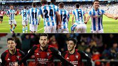 Real Sociedad y Mirandés sueñan con la final de La Cartuja