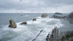 Cielo nuboso en el extremo norte peninsular con lluvias en Galicia