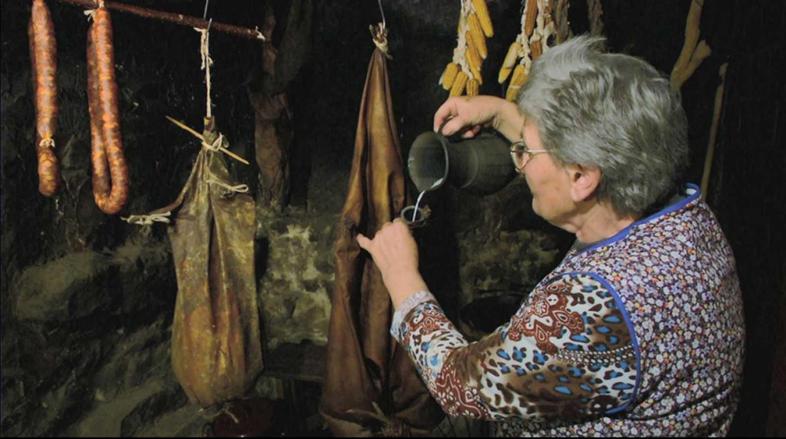 El queso de bota de Asturias es pura tradición
