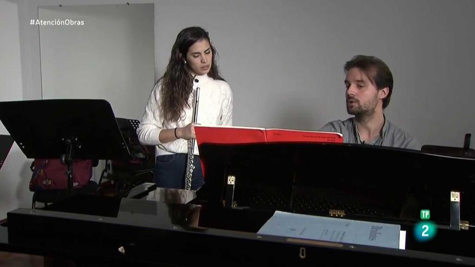 Atención obras - Escuela de Música Reina Sofía