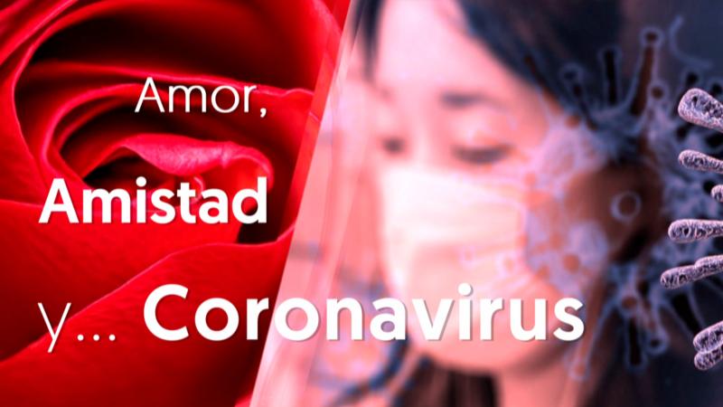 Ramos de flores por San Valentín contra el coronavirus en Filipinas