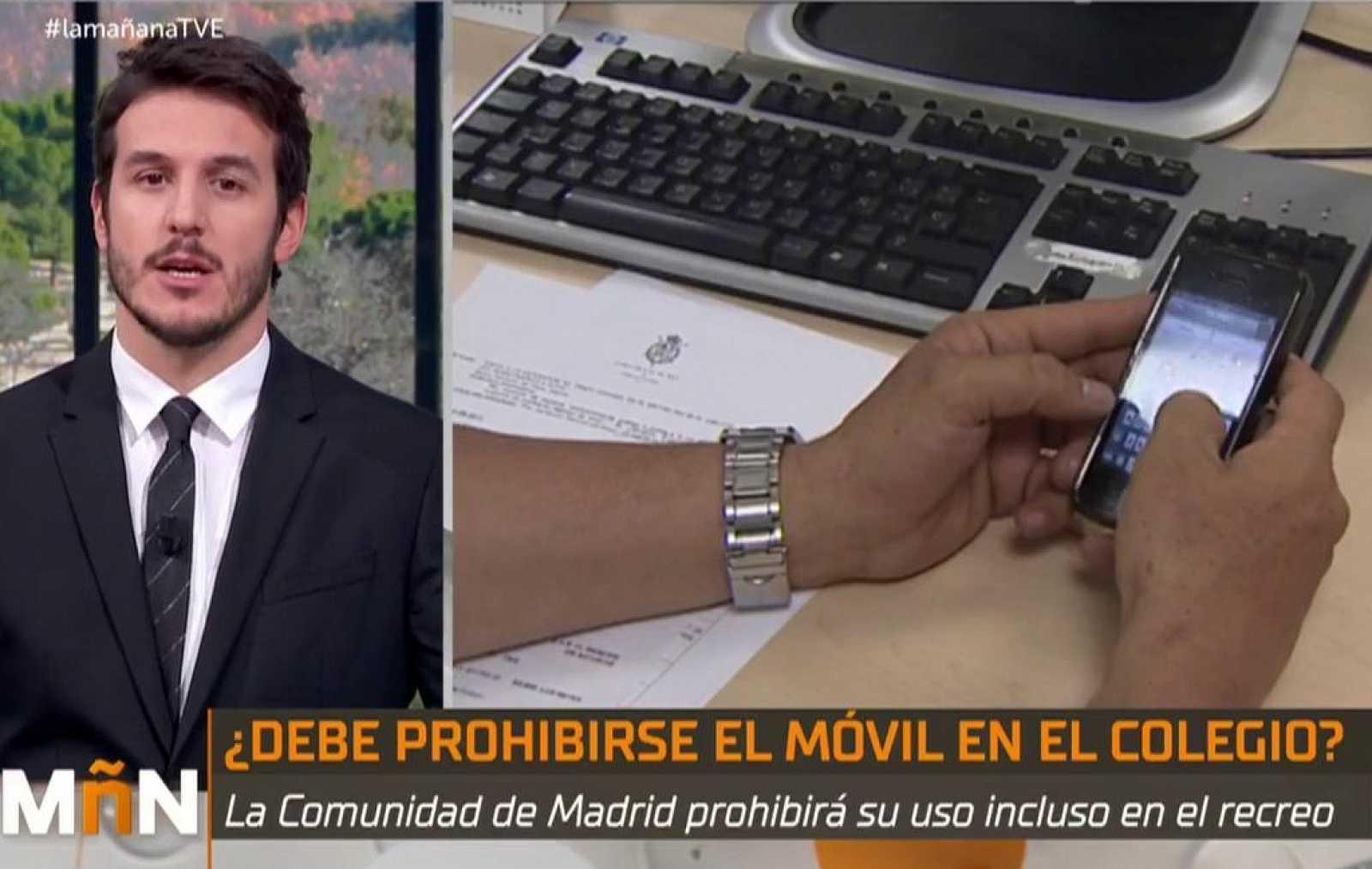 La Mañana - La Comunidad de Madrid ampliará la prohibición de los móviles en los colegios