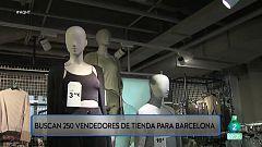 Buscan más de 250 vendedores en una cadena de moda