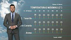 El tiempo en Canarias - 14/02/2020