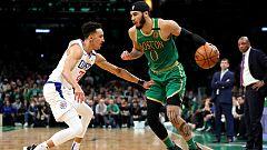 Los Celtics y los Thunder firman dos triunfos antes del All-Star
